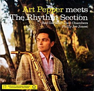 ART PEPPER MEETS THE RHYTHM SECTION Uk盤
