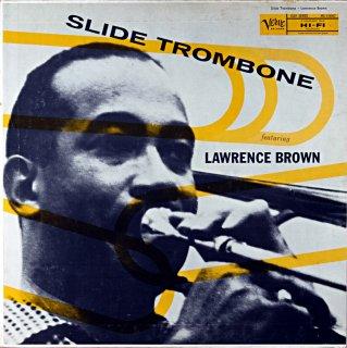 LAWRENCE BROWN SLIDE TROMBONE Us盤