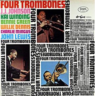 J.J. JOHNSON / FOUR TROMBONES