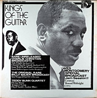 KING OF THE GUITAR WES MONTGOMERY - CHARLIE CHRISTIAN Us盤