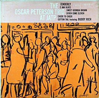THE OSCAR PETERSON TRIO AT JATP Us盤