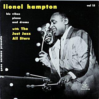 LIONEL HAMPTON WIHT THE JUST JAZZ ALL STARS