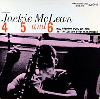 JACKIE McLEAN 4 5 AND6(OJC盤)