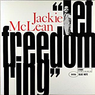 """JACKIE McLEAN """"LET FREEDOM RING"""""""