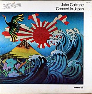 JOHN COLTRANE CONCERT IN JAPAN 2枚組 Us盤