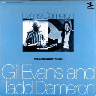 TADD DAMERON -GILL EVANS / THE ARRANGERS' TOUCH 2枚組 Us盤