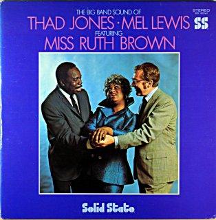 THAD JONES / MEL LEWIS MISS RUTH BROWN Us盤