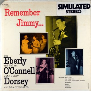 JIMMY DORSEY REMEMBER JIMMY...BOB EBERLY AND HELEN O'CNNELL Us盤