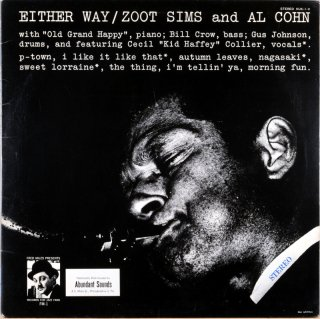 EITHER WAY ZOOT SIMS AND AL COHN