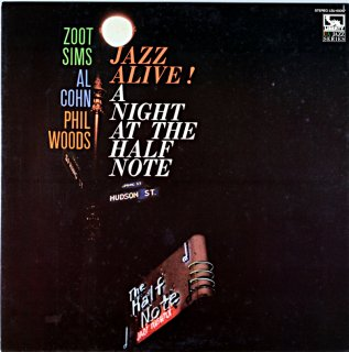 ZOOT SIMS JAZZ ALIVE A NIGHT AT THE HALF NOTE