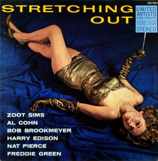 ZOOT SIMS STRETCHING OUT (Fresh sound盤)