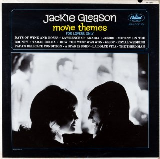 JACKIE GLEASON MOVIE THEMES - FOR LOVERS ONLY Us盤