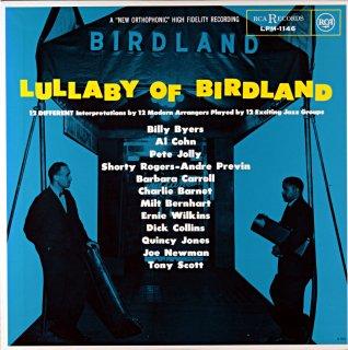 BILLY BYERS LULLABY BIRDLAND