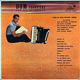 DOM FRONTIERE SEXTET Us盤