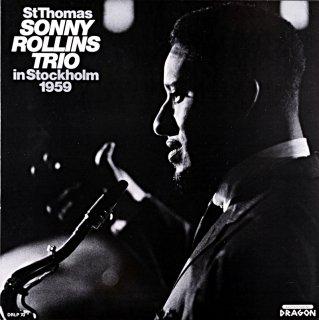 SONNY ROLLINS TRIO IN STOCKHOLM 1959 Swedish盤