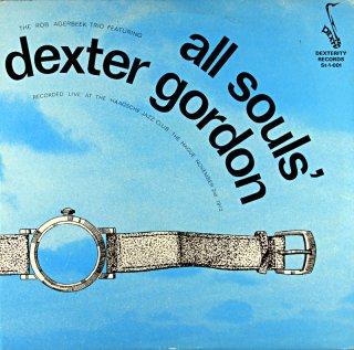 ALL SOULS' / DEXTER GORDON Uk盤