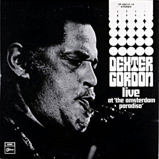 DEXTER GORDON LIVE AT THE AMSTERDAM PARADISO 2枚組