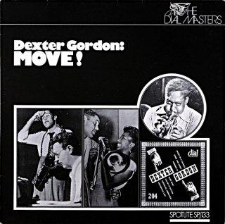 DEXTER GORDON MOVE ! THE DIAL MASTER Uk盤