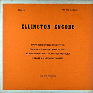 DUKE ELLINGTON ENCORE 1937 & 1957 Us盤