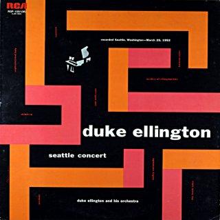 DUKE ELLIGTON / SEATTLE CONCERT