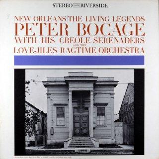 PETER BOCAGE NEW ORLEANS THE LIVNG LEGENDS Original盤