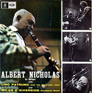 ALBERT NICHOLAS IN MILAN Uk盤