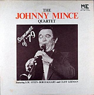 JOHNNY MINCE THE JOHNNY MINCE QUARTET 79 Us盤