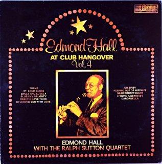EDMOND HALL AT CLUB HANGOVER Uk盤