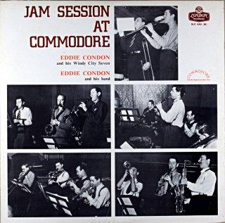 EDDIE CONDON JAM SESSON COMMODORE