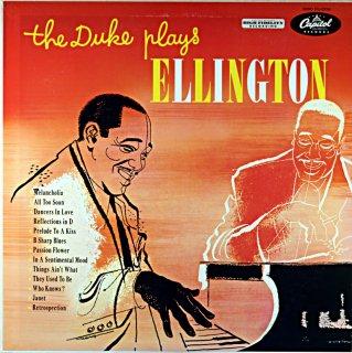 DUKE ELLINGTON THE DUKE PLAYS ELLINGTON