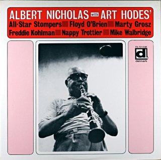 ALBERT NICHOLAS WITH ART HODES