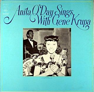 ANITA O'DAY SINGS WITH GENE KRUPA