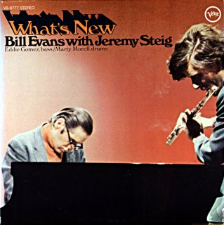 WHAT'S NEW BILL EVANS Us盤