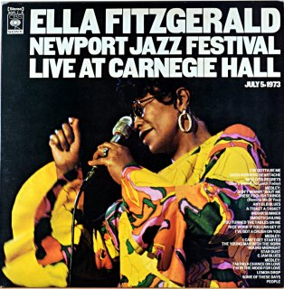 ELLA FITZGERALD NEWPORT JAZZ FESTIVAL LIVE AT CARNEGIE HOLL