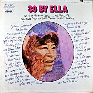 ELLA FITZGERALD 30 BY ELLA Us盤