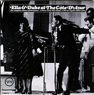 ELLA & DUKE AT THE COTE D'AZUR 2枚組 Us盤