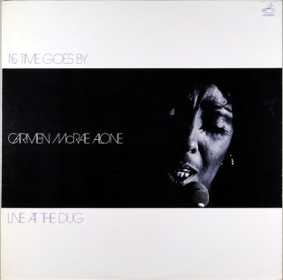 AS TIME GOESBY CARMEN McRAE ALONE LIVE AT THE DUG