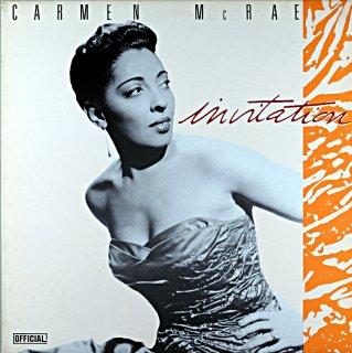 CARMEN McRAE INVITAION Denmark盤