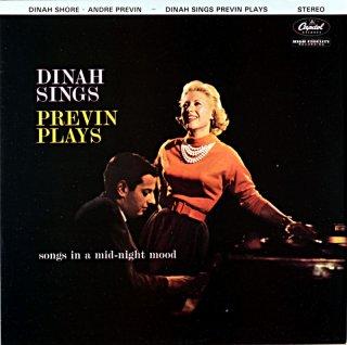 DINAH SHORE DINA SINGS PREVIN PLAYS Uk盤