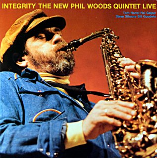 INTEGRITY THE NEW PHIL WOODS QUINTET LIVE 2枚組 Itarian盤