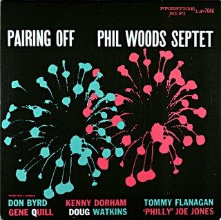 PAIRING OFF PHIL WOODS SEPTET(OJC盤)