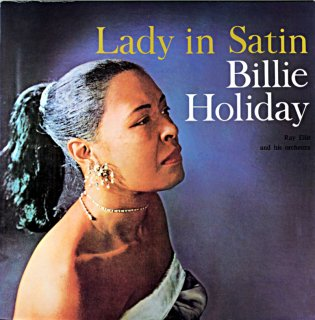 BILLE HOLIDAY LADY IN SATIN BILLY HOLIDAY