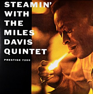 STEAMIN' WITH THE MILES DAVIS QUINTET (Analogue Productions盤)
