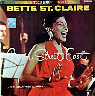 BETTY ST. CLAIRE AT BASIN STREET EAST (Fresh sound盤)