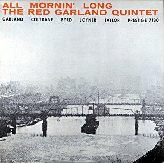 ALL MORNIN' LONG THE RED GARLAND (OJC盤)