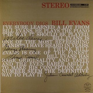 BILL EVANS EVERYBODY DIGS