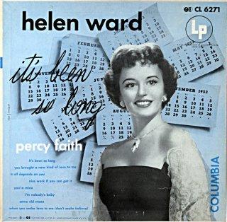HELEN WARD IT'S BEEN SO LONG ORIGINAL 10inch Original盤