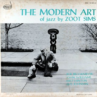 THE MODERN ART OF JAZZ BY ZOOT SIMS