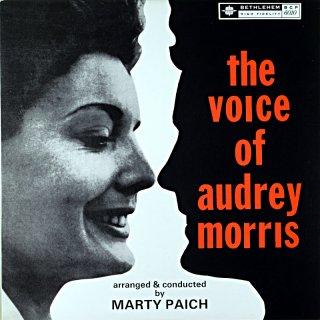 THE VOICE OF AUDREY MORRIS (Fresh sound盤)