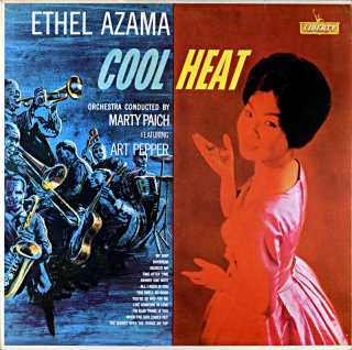 ETHEL AZAMA COOL HEAT Spanish盤